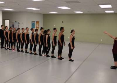 Rehearsal at MAC with Level 3 Dancers